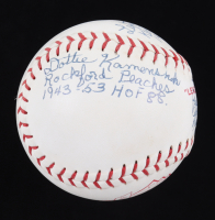 """""""League of Our Own"""" Baseball Signed by (4) with Alice 'Lefty' Hohlmayer, Dorothy Kamenshek, Pepper Paire & Margaret Wenzell with Multiple Inscriptions (JSA LOA) at PristineAuction.com"""
