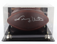 """Johnny Unitas Signed """"The Duke"""" NFL Football with Display Case (Steiner COA) at PristineAuction.com"""