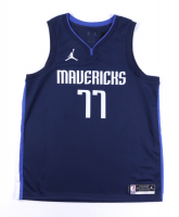 Luka Doncic Signed Mavericks Game Jersey (PSA COA) at PristineAuction.com