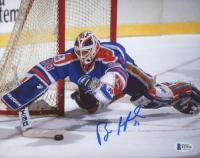 Bill Ranford Signed Oilers 8x10 Photo (Beckett COA) at PristineAuction.com