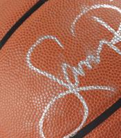 Larry Bird Signed NBA Basketball (PSA COA & Bird Hologram) (See Description) at PristineAuction.com