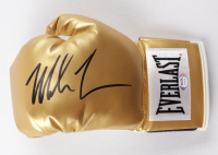 Mike Tyson Signed Everlast Gold Boxing Glove (PSA COA) at PristineAuction.com