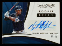 Miguel Andujar 2018 Immaculate Collection Rookie Debut Signatures #31 #97/99 at PristineAuction.com