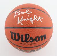 Bob Knight Signed NCAA Basketball (Schwartz Sports COA) at PristineAuction.com