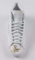 Larry Bird Signed Converse All-Star Leather Basketball Shoe (PSA COA (See Description) at PristineAuction.com