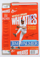 """Jim Palmer Signed Wheaties Commemorative Edition Cereal Box Inscribed """"HOF 90"""" & """"1973, 75, 76 Cy"""" (Beckett COA) at PristineAuction.com"""