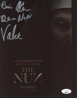 "Bonnie Aarons Signed ""The Nun"" 8x10 Photo Inscribed ""Demon Nun Valak"" (Legends COA) (See Description) at PristineAuction.com"