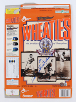 """Ted """"Double Duty"""" Radcliffe Signed Wheaties """"The Negro Leagues, 75th Commemorative Year"""" Cereal Box (Beckett COA) at PristineAuction.com"""