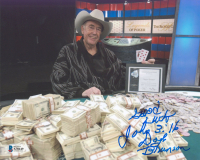 """Dolye Brunson Signed 8x10 Photo Inscribed """"Good Luck"""" (Beckett COA) at PristineAuction.com"""