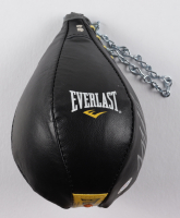 Mike Tyson Signed Everlast Boxing Speed Punching Bag (PSA COA) (See Description) at PristineAuction.com