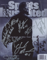 Sports Illustrated 8x10 Cover Photo Signed By (11) With John Henson, Jawad Williams, Lennie Rosenbluth, Reyshawn Terry, Byron Sanders & David Noel (Legends COA) at PristineAuction.com
