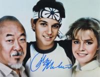 "Ralph Macchio Signed ""The Karate Kid"" 11x14 Photo (AutographCOA COA) at PristineAuction.com"