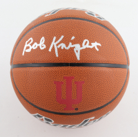 Bob Knight Signed Indiana Hoosiers Logo Basketball (Schwartz Sports COA) at PristineAuction.com