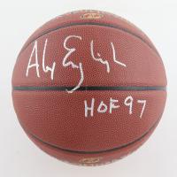 "Alex English Signed NBA Basketball Inscribed ""HOF 97"" (Schwartz Sports COA) at PristineAuction.com"