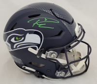 Russell Wilson Signed Seahawks Full-Size Authentic On-Field SpeedFlex Helmet (Fanatics Hologram) at PristineAuction.com