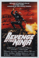 "Arthur Roberts & Sho Kosugi Signed ""Revenge of The Ninja"" 12x18 Photo Inscribed ""Good Luck!"" (AutographCOA COA) at PristineAuction.com"