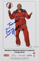 """Curly Neal Signed 5.5x8.5 Globetrotters Photo Inscribed """"Thanks"""" (JSA SOA) at PristineAuction.com"""
