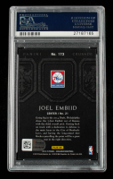 Joel Embiid Signed 2014-15 Panini Excalibur Crusade Camouflage #173 RC (PSA 9) (Fanatics Hologram) at PristineAuction.com