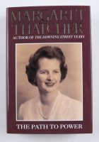 """Margaret Thatcher Signed """"The Path To Power"""" Hardcover Book (Beckett COA) at PristineAuction.com"""