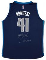 "Dirk Nowitzki Signed Mavericks LE Jersey Inscribed ""12x All NBA"" (UDA Hologram) at PristineAuction.com"