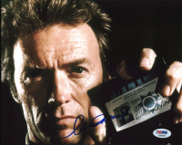 """Clint Eastwood Signed """"Dirty Harry"""" 8x10 Photo (PSA LOA) at PristineAuction.com"""