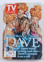 """David Letterman Signed """"1997 TV Guide"""" Softcover Book (Beckett COA & PSA Hologram) at PristineAuction.com"""
