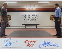 "Ralph Macchio & William Zabka Signed ""The Karate Kid"" 16x20 Photo (AutographCOA COA) at PristineAuction.com"