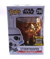 """Kevin Smith Signed """"Star Wars"""" #296 Stormtrooper (2019 Galactic Convention Exclusive Gold Edition) Funko Pop! Vinyl Figure (JSA COA) at PristineAuction.com"""