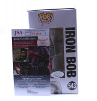 "Kevin Smith Signed LE ""Jay & Silent Bob Reboot"" #543 Iron Bob Funko Pop! Vinyl Figure (JSA COA) at PristineAuction.com"