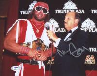 Gene Okerlund Signed WWE 8x10 Photo (PSA COA) at PristineAuction.com