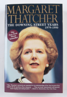 """Margaret Thatcher Signed """"The Downing Street Years: 1979-1990"""" Paperback Book (Beckett COA) at PristineAuction.com"""
