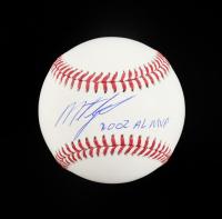 "Miguel Tejada Signed OML Baseball Inscribed ""2002 AL MVP"" (Schwartz COA) at PristineAuction.com"