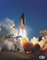 Bob Crippen Signed NASA Space Shuttle Challenger 8x10 Photo (Beckett COA) at PristineAuction.com
