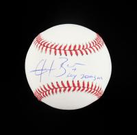 "Angel Berroa Signed OML Baseball Inscribed ""ROY 2003 AL"" (Schwartz COA) at PristineAuction.com"