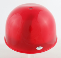 """Tommy Helms Signed Reds Full-Size Batting Helmet Inscribed """"ROY-NL-66"""" (Schwartz Sports COA) at PristineAuction.com"""