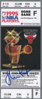 John Paxson Signed NBA 1995 Playoff Ticket (Beckett COA) at PristineAuction.com