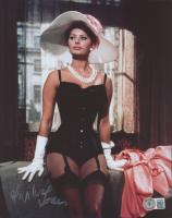 Sophia Loren Signed 8x10 Photo (Beckett COA) at PristineAuction.com