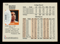 Maurice Cheeks Signed 1991-92 Hoops #139 (JSA COA) at PristineAuction.com
