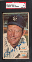 Mickey Mantle Signed 1964 Topps Giants #25 (SGC Encapsulated) at PristineAuction.com