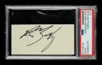 Pete Buttigieg Signed 2x4 Cut (PSA Encapsulated) at PristineAuction.com