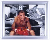 Julio César Chávez Signed 13x16 Custom Framed Photo Display (PSA COA) at PristineAuction.com