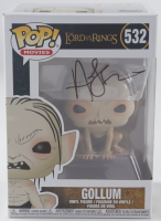 """Andy Serkis Signed """"The Lord of the Rings"""" #1532 Gollum Funko Pop! Vinyl Figure (Beckett COA) (See Description) at PristineAuction.com"""