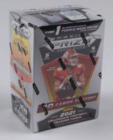 2021 Panini Prizm Draft Picks Football Blaster Box with (6) Packs (See Description) at PristineAuction.com