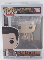 """George Wendt Signed """"Cheers"""" #796 Norm Peterson Funko Pop! Vinyl Figure Inscribed """"Norm"""" (Beckett COA) (See Description) at PristineAuction.com"""