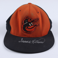 Frank Robinson Signed Orioles Fitted Baseball Hat (JSA COA) (See Description) at PristineAuction.com