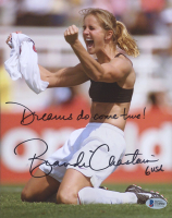 "Brandi Chastain Signed Team USA 8x10 Photo Inscribed ""Dreams Do Come True!"" (Beckett COA) at PristineAuction.com"
