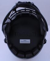 Drew Brees & Alvin Kamara Signed Saints Full-Size Eclipse Alternate Speed Helmet (Beckett Hologram) at PristineAuction.com