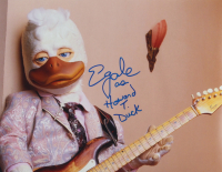 """Ed Gale Signed """"Howard the Duck"""" 11x14 Photo Inscribed """"Howard T. Duck"""" (AutographCOA COA) at PristineAuction.com"""
