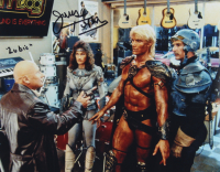 """James Tolkan Signed """"Masters of The Universe"""" 11x14 Photo Inscribed """"Lubic"""" (AutographCOA COA) at PristineAuction.com"""