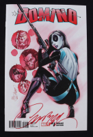 """J. Scott Campbell Signed 2018 """"Domino"""" Issue #1 Variant Edition Marvel Comic Book (Campbell COA & Beckett COA) at PristineAuction.com"""